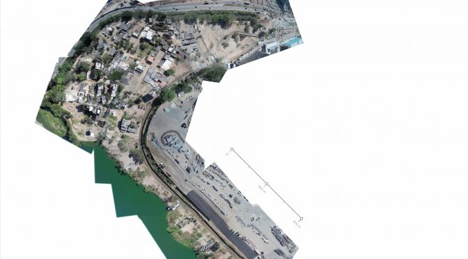 Aerial mapping of Vila Autodromo